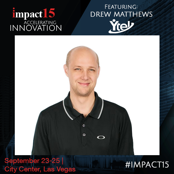 Ytel's Drew Matthews speaking at IMPACT15