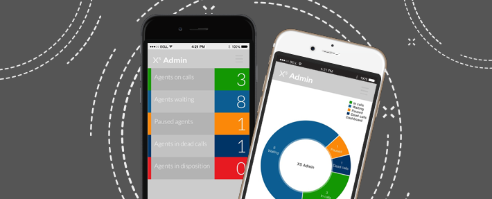 New and Improved X5 Mobile Admin app