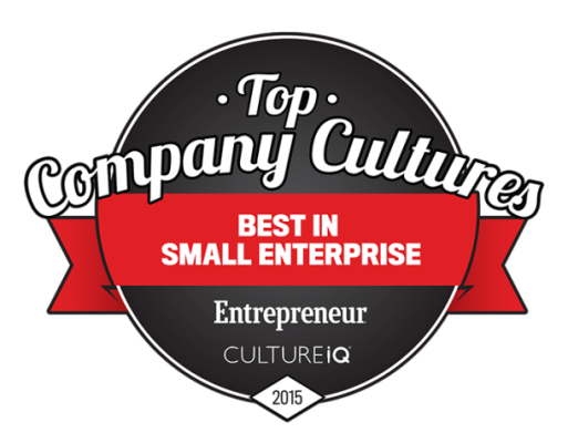 Entreprenuer 2015 - Best in Small Enterprise