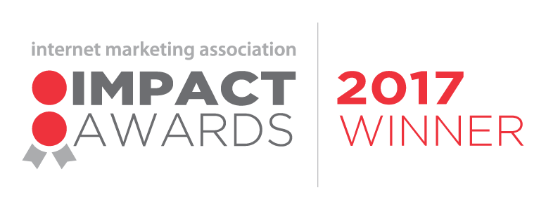 Internet Marketing Association IMPACT 2017 Award